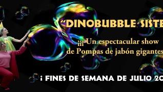 Dinobubble Sister, nuestra nueva obra en el Parque Temático de Dinópolis
