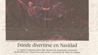 100% Burbujas abrió en El País la sección de cultura en Madrid